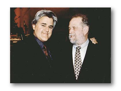 Picture of Bob and Tonight Show host Jay Leno