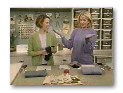 Picture of Molly and Martha Stewart