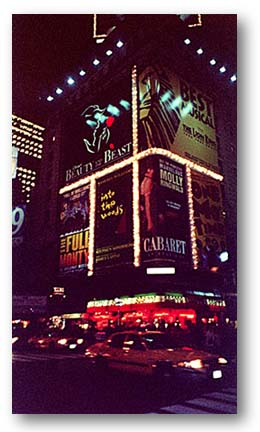 Picture of Times Square Marquee featuring Molly